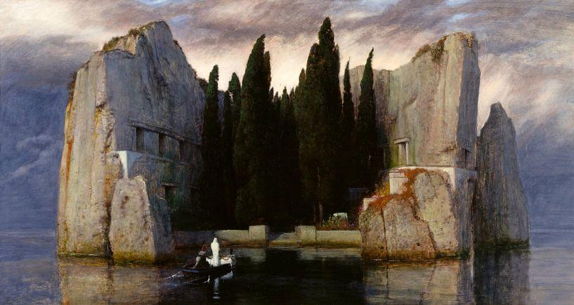 Arnold Böcklin. Het dodeneiland van 1000 Schilderijen