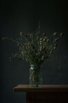 Stillleben der getrockneten Blumen von Martzen Fotografie