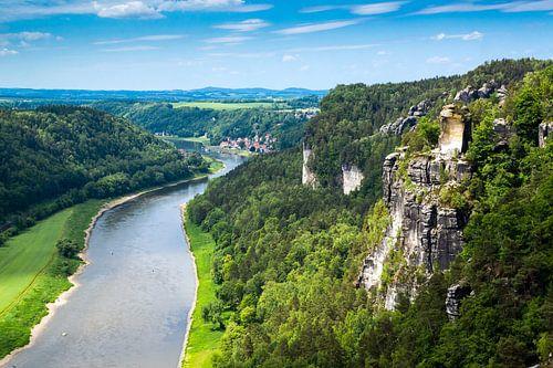 Saksisch Zwitserland van Reiner Würz / RWFotoArt