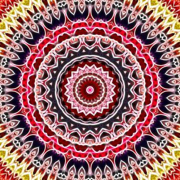 Mandala Fraktal 2 von Marion Tenbergen