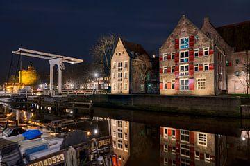 Aan de Stadsmuur met Pelserbrugje Zwolle