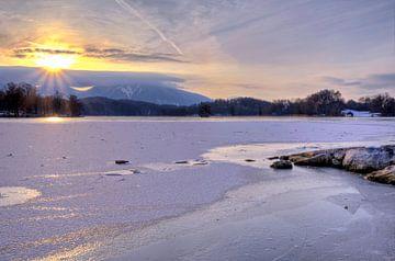 Wenn die Sonne das Eis küsst von Roith Fotografie