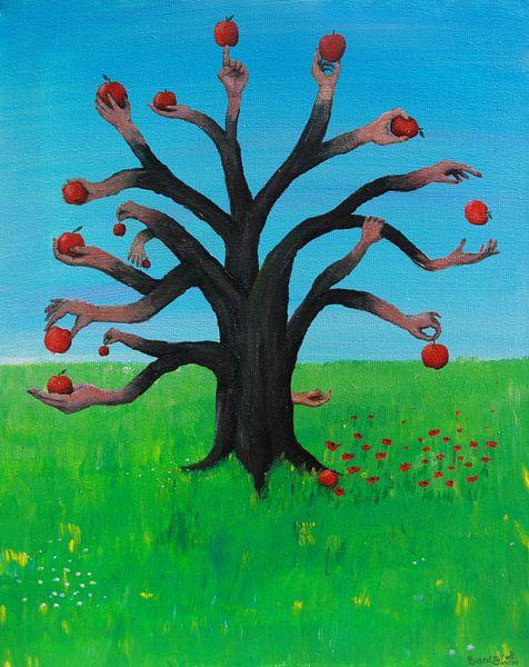 De appelboom van Bianca Wisseloo