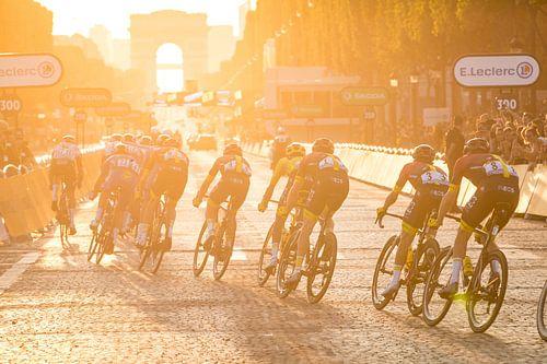 Zonsondergang in Parijs - Tour de France 2019