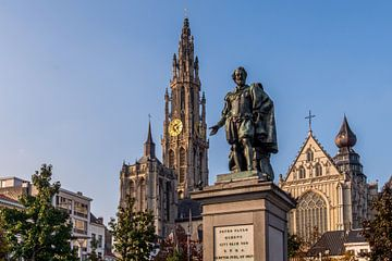 Antwerpen Groenplaats van Bert Beckers