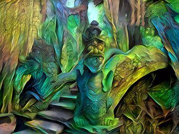 Monkey Forest van Rein Bijlsma
