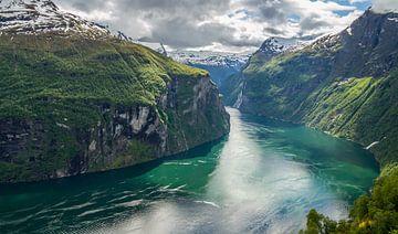 Geiranger Fjord, Norwegen von Dirk Jan Kralt