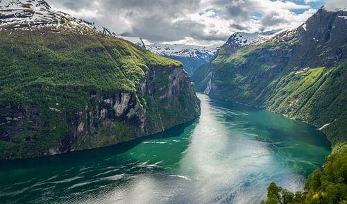 Geirangerfjord, Noorwegen van