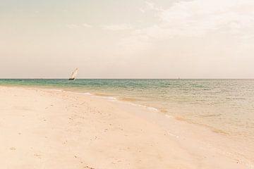 Zanzibar zeilboot van Andy Troy