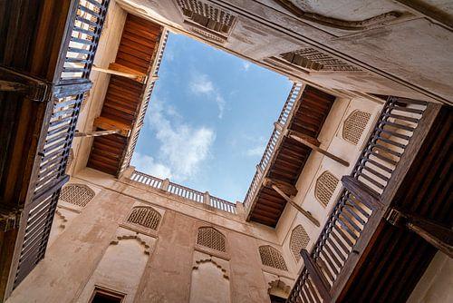 Kijk omhoog: Fort Jibreen, Oman