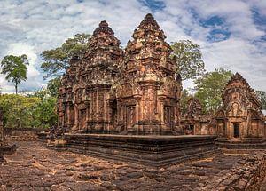 Banteay Srey tempel, Cambodja