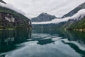 Geirangerfjord in Norway van