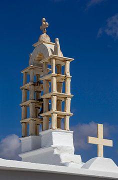 Kirchenglocken auf Paros, Griechenland von Adelheid Smitt