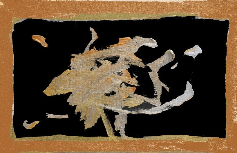 Gold Rush 3 van Toekie -Art