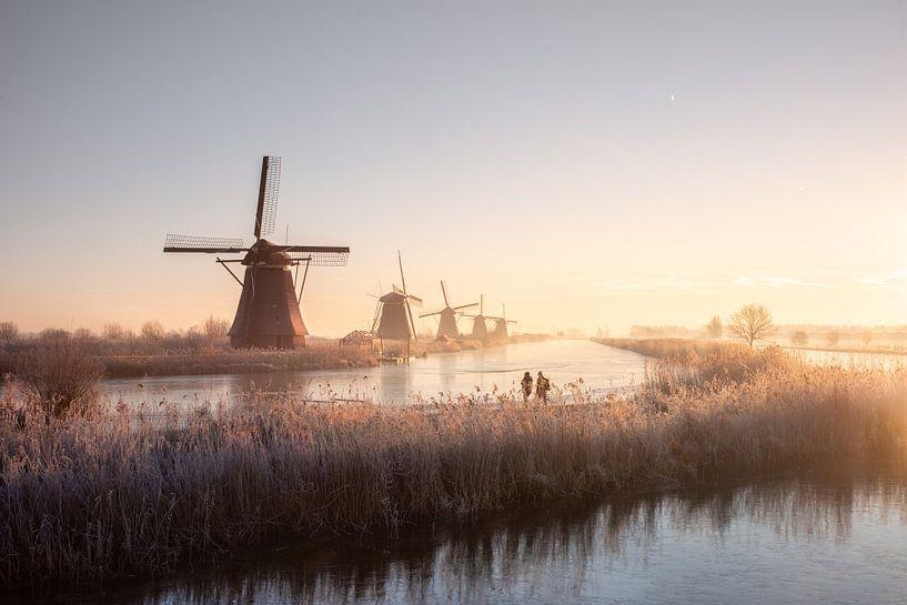 A Dutch Sunrise van Claire Droppert