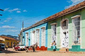 Kleurrijk Trinidad Cuba, colorful van Corrine Ponsen