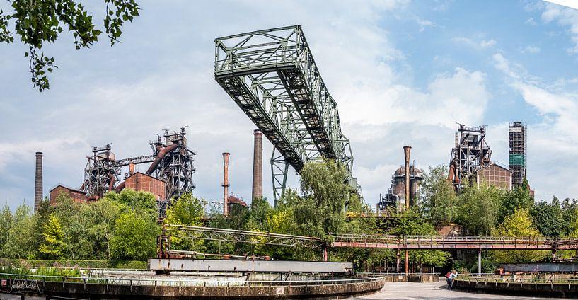 Landschaftspark Duisburg von Lieke Roodbol