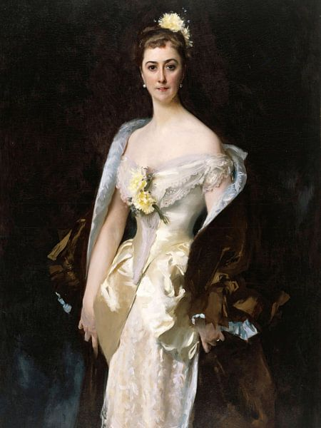 John Singer Sargent-Caroline von Bassano, Marquis d'Espeuilles. von finemasterpiece