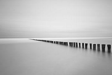 Stille an der Küste von Bart van Dongen
