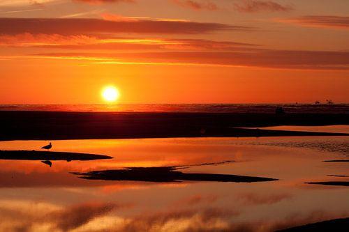 Sunset beach von Erik Odink