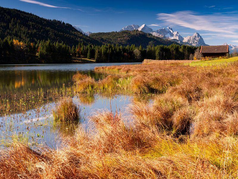 Herbststimmung am Geroldsee von Andreas Müller