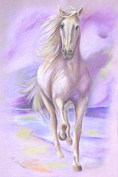 Paardbeeld paard droom van Marita Zacharias