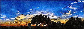 Wunderschöner Sonnenaufgang von Saskia Ben Jemaa