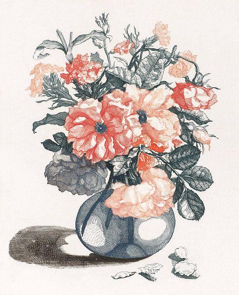 Bloemen in een vaas, Johan Teyler van Meesterlijcke Meesters