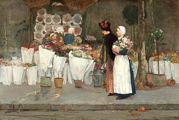 Im Blumenladen, Childe Hassam