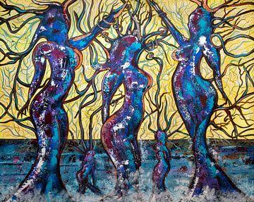 Kunstwerk Reflexion von Christel De Buyser