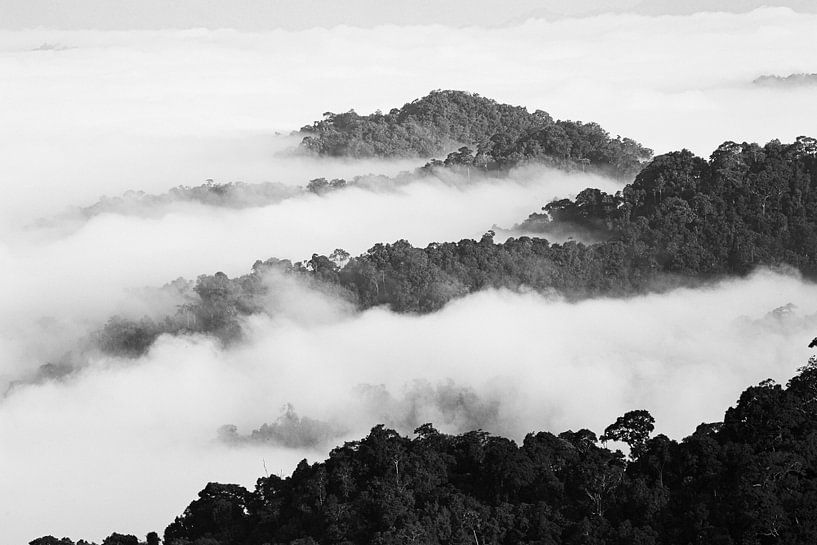 Zee van Wolken van Johan Zwarthoed
