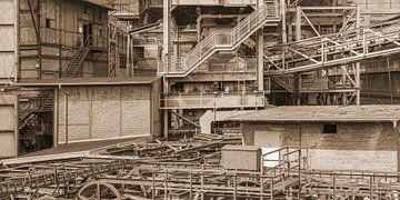 Rostige Industrieanlage von Achim Prill