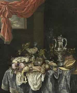Prunkstillleben, Abraham van Beijeren