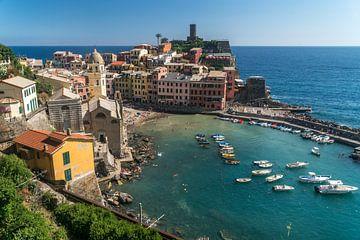 Vernazza, Cinque Terre, Riviera di Levante, Ligurië, Italië van Peter Schickert
