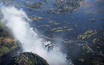 Victoria watervallen Zimbabwe van Kelly Baetsen