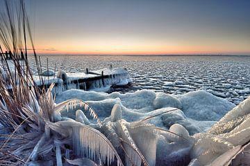 Steiger onder winterse omstandigheden von John Leeninga
