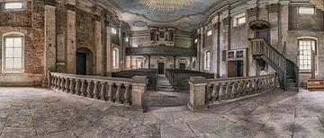 Verlassene Kirche von Guy Bostijn