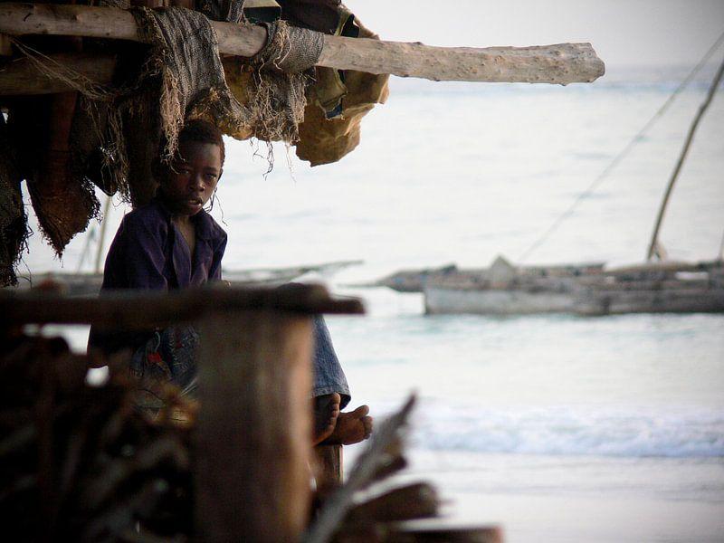 African Boy sur Robbie Veldwijk