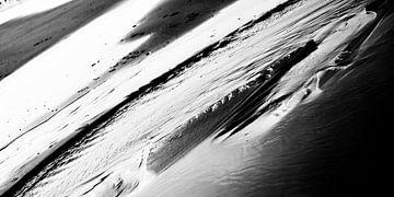 Het Noordzeestrand bij Noordwijk II van Chantal Heusschen