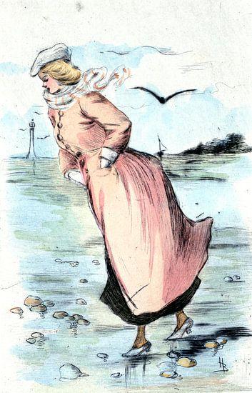 Mode 1888, Mode in het negentiende-eeuwse Parijs, Henri Boutet, (1851 1919) van Liszt Collection