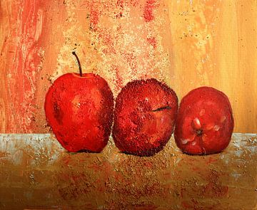 Stillleben mit Äpfeln van Andrea Meyer