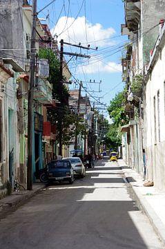 Straatbeeld II - Havana, Cuba van