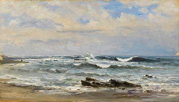 Carlos de Haes-Zeegolven, Antike Landschaft