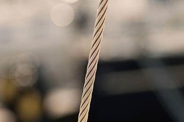 Staal kabel van Agnes Meijer