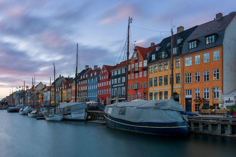 de haven van Kopenhagen van Robin van Maanen