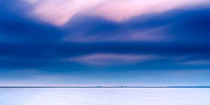 Minimalistische foto van oneindig laagland in Nedeland