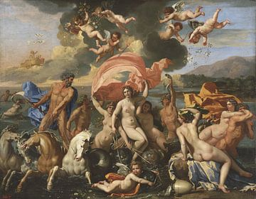 La naissance de Vénus, Nicolas Poussin sur