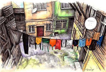 Städte-Serie 12 - Istanbul von Yeon Yellow-Duck Choi