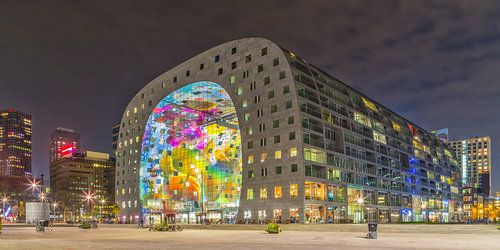 Markthal Rotterdam by night - Part two