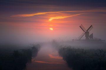 Mini-Windmühle von Albert Dros